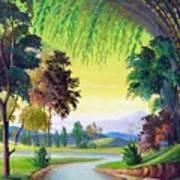 Verde Que Te Quero Verde Art Print