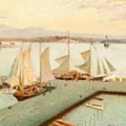 View From Pohjoisranta Art Print