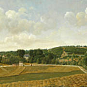 View Of Chatenay Art Print