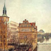 View On A River Art Print