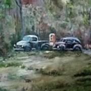 Vintage Vehicles Art Print