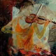Violinist 67 Art Print