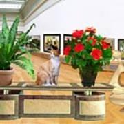 Virtual Exhibition 22 Art Print