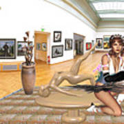 Virtual Exhibition - 33 Art Print