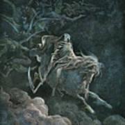 Vision Of Death Art Print