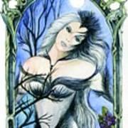 Vivian Of The Ravens Art Print