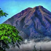 Volcan De Agua, Antigua Guatemala I Art Print