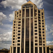 Wachovia Tower Roanoke Virginia Art Print