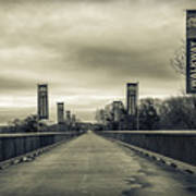 Walkway Over The Hudson Art Print