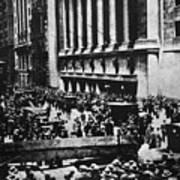 Wall Street Crash 1929 Art Print