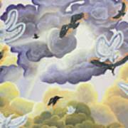 War In Heaven Art Print
