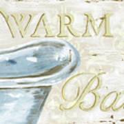 Warm Bath 2 Art Print
