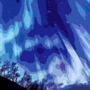 Watcher Of The Skies Art Print