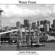Water Front Art Print
