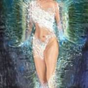 Water Girl Art Print