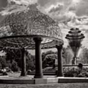 Wellspring Fountain - Council Bluffs Iowa Art Print