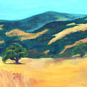 Western Hills Art Print