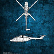 Westland Lynx Art Print