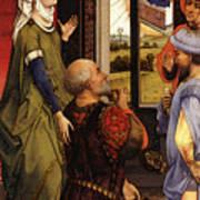 Weyden Bladelin Triptych    Art Print