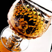 Whiskey In Glass Art Print by Blink Images