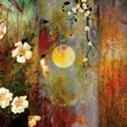 Whisper Forest Moon II Art Print