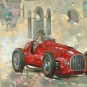 Whitehead's Ferrari Passing The Pavillion - Jersey Print by Peter Miller