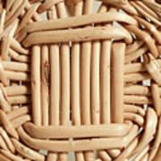 Wicker Basket Art Print