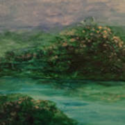 Wild Rose Bushes Art Print
