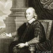 William Harvey, English Physician Art Print