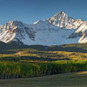 Wilson Peak Panorama Art Print