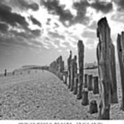 Winchelsea Beach Sussex Art Print