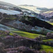 Winter In North Wales Art Print