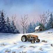 Winter Rest Art Print