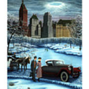Winter Wonderland Art Print by Tracy Dennison