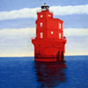 Wolf Trap Lighthouse Art Print