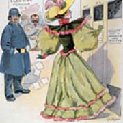 Womens Rights Cartoon Art Print