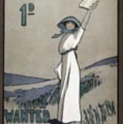 Womens Rights Art Print by Granger