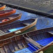 Wooden Boats Art Print