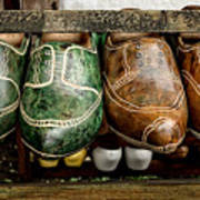 Wooden Shoes Art Print