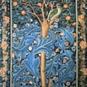 Woodpecker Tapestry Art Print