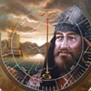 World Unification Gold Or Sea Captain Art Print