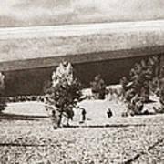 World War I: Zeppelin Art Print