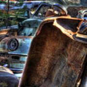 Wrecking Yard Study 8 Art Print