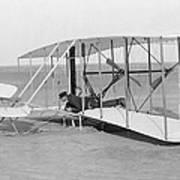 Wright Brothers Glider Art Print