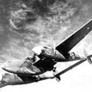 Wwii, Lockheed P-38 Lightning, 1940s Art Print