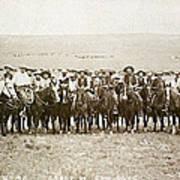 Wyoming: Cowboys, C1883 Art Print