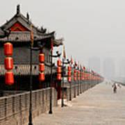 Xian Lanterns Art Print