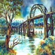 Yaquina Bay Bridge Art Print