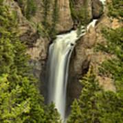 Yellowstone Tower Falls 2018 Art Print