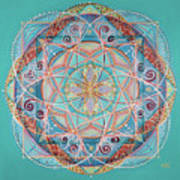 Yogi By The Sea Art Print